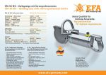 EFA SK 18S – Breaking saw, with »Servo synchronous motor«